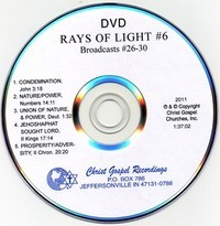Rays Of Light DVD #6 - DVD Time: 1:37:02