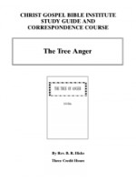 Tree Of Anger (workbook)