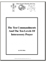 Intercessory Prayer Notes