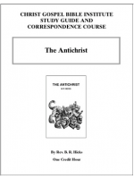 Antichrist (Workbook)