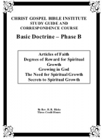 Basic Doctrine Phase B (Workbook)