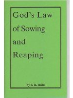 God's Law Of Sowing And Reaping