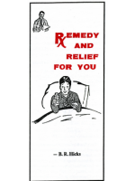 Remedy and Relief (Free Tract Download)