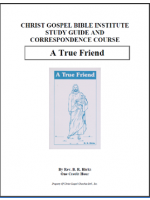 A True Friend (Workbook)