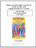 True Worship (Workbook)