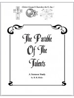 July Convention Notes 2015-[ The Parable Of The Talents ]
