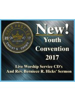 Youth Convention 2017 Music CD's and Rev. Berniece R. Hicks' Sermon