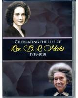 Rev. Berniece R. Hicks Funeral Service DVD
